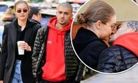 Gigi Hadid và Zayn Malik hôn nhau trên phố sau hơn 1 tháng chia tay