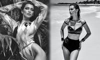 Bella Hadid eo thon, ba vòng như 'thần Vệ Nữ'