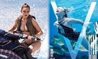 Gigi Hadid hóa thân thành Bond girl bốc lửa quyến rũ