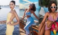 Mê mẩn sắc vóc hoàn hảo đầy hấp dẫn của Hoa hậu Hoàn vũ 2012