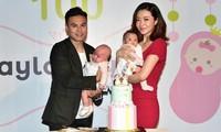 Mỹ nhân 'Diệp Vấn' tái xuất xinh đẹp sau 3 tháng sinh con