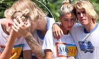 Justin Bieber - Hailey Baldwin 'vò đầu bứt tóc' khi ở bên nhau