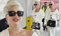 Lady Gaga gây 'sốt' với thời trang thanh lịch đầy quyến rũ