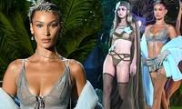 Không dự Victoria's Secret Show, Gigi-Bella Hadid vẫn rực lửa nội y