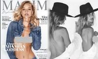 Ngắm thiên thần tóc vàng 9x nuột nà trên bìa Maxim