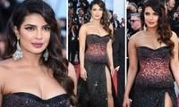 Hoa hậu thế giới Priyanka Chopra ngực đầy quyến rũ với đầm xẻ cao