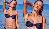 Alessandra Ambrosio 'thiêu đốt' nắng hè với áo tắm