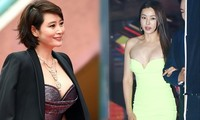 Kim Hye Soo ngực đầy đọ sắc nóng bỏng với Hoa hậu Hàn Quốc