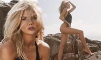 Người mẫu 9x Charlotte McKinney tạo dáng tựa nữ thần