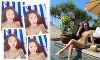 'Công chúa băng giá' xứ Hàn Jessica Jung dáng đẹp hút mắt
