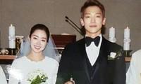 Ảnh cưới màu chưa từng tiết lộ của Kim Tae Hee - Bi Rain