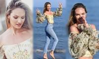 Say đắm loạt khoảnh khắc thiên thần của Candice Swanepoel