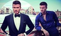 David Beckham 44 tuổi điển trai lãng tử như điệp viên 007 James Bond