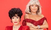 Mẹ ruột Kim Kardashian và mẹ Gigi Bella Hadid đọ sắc quyến rũ