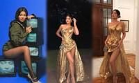 Em út tỉ phú nhà Kardashian mặc nóng bỏng dự đám cưới Justin Bieber