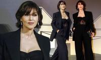 'Biểu tượng gợi cảm' Monica Bellucci diện nội y ren tôn ngực đầy