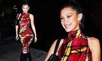 Bella Hadid diện bó sát tôn đường cong trong sinh nhật tuổi 23