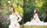 'Tiểu Long Nữ' Lý Nhược Đồng mặc váy cô dâu trẻ trung bất ngờ