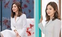 Gần tứ tuần, Song Hye Kyo vẫn xinh đẹp nền nã 'đốn tim' fan
