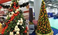 Thích mê những cây thông Noel 'có một không hai' của dân mạng