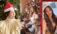 Chị em Kim Kardashian và dàn sao Âu, Á tưng bừng không khí Noel