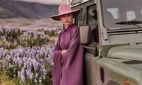 Irina Shayk đẹp như mỹ nữ trong tranh ở hòn đảo Iceland