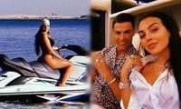 Cristiano Ronaldo đưa bạn gái gợi cảm đi nghỉ dưỡng ở Dubai