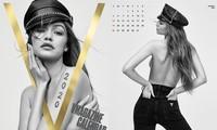 Gigi Hadid bán nude ngực trần táo bạo