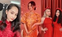 Ngọc nữ phim 'Mắt Biếc' và các hot girl 9x lung linh đón Tết