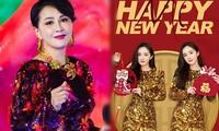 Lưu Gia Linh, Dương Mịch, Angelababy rạng ngời đón xuân