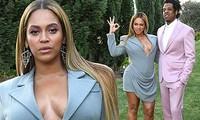 Beyonce quyến rũ dáng tròn đầy 'bỏng rẫy' bên chồng
