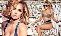Mê mẩn sắc vóc nóng bỏng tuổi 50 của Jennifer Lopez