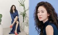 Song Hye Kyo tóc xù xinh đẹp ngất ngây trong loạt ảnh tung đúng Valentine