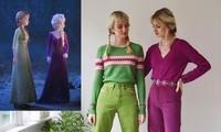 Cặp chị em sinh đôi cosplay nữ hoàng băng giá gây 'sốt' mạng