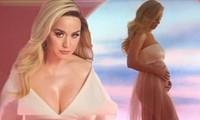 Katy Perry mặc xuyên thấu, khoe bụng bầu với Orlando Bloom trong MV mới