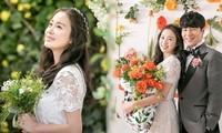 Kim Tae Hee xinh đẹp rạng ngời khi mặc váy cưới ở tuổi 40