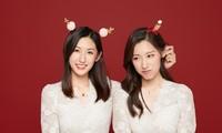 Cặp chị em sinh đôi tốt nghiệp Harvard làm MC truyền hình