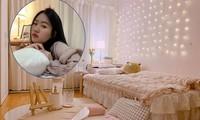 Cô gái 'tân trang' phòng trọ cũ đẹp như mơ khiến dân mạng trầm trồ