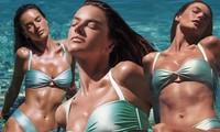 Mỹ nhân áo tắm Alessandra Ambrosio phô diễn hình thể tạc tượng