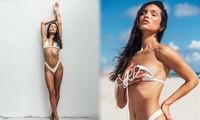 Kaylin Baer thả dáng tạc tượng với hình thể đẹp không tì vết