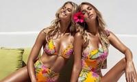 Mê mẩn hai nàng thơ của Guess thả dáng nữ thần với bikini