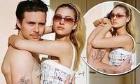 Ảnh tình tứ của cậu cả nhà Becks và bạn gái gợi cảm đẹp như bìa tạp chí
