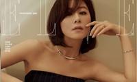 Ngỡ ngàng nhan sắc gợi cảm U60 của bà cả phim 'Thế giới hôn nhân'
