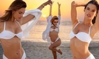 Alessandra Ambrosio 40 tuổi vẫn siêu quyến rũ, căng đầy sức sống