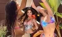 Người mẫu lai Shanina Shaik rực lửa dưới nắng hè