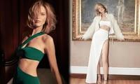 Mê đắm sắc vóc tuyệt đẹp của siêu mẫu Séc U50 Eva Herzigova