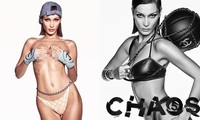 Bella Hadid bán nude 'rực lửa'