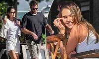 Liam Hemsworth sánh đôi tình mới giữa lúc vợ cũ Miley Cyrus chia tay Cody Simpson