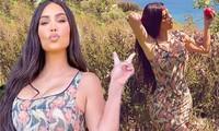 Kim Kardashian tuổi tứ tuần vẫn trẻ trung quyến rũ