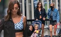 Mỹ nhân Nga Irina Shayk và thiên thần nội y Stella Maxwell khoe chân dài trên phố